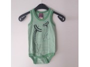 Green Stripey Jellyfish Romper